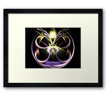 Butterfly Ball Framed Print