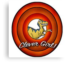 Clever Girl - Looney Tunes Canvas Print