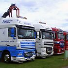 row of trucks by amylw1