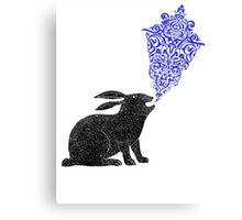 Rabbit Sings the Blues Metal Print