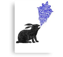 Rabbit Sings the Blues Canvas Print