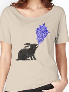 Rabbit Sings the Blues Women's Relaxed Fit T-Shirt