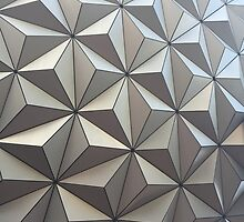 Spaceship Earth, up close by auntiejessieb