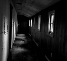 Deserted hallway by Jeffrey  Sinnock