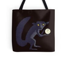 Aye Aye Steals the Moon Tote Bag