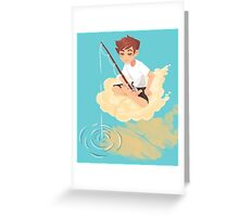 Cloud Fishing Greeting Card