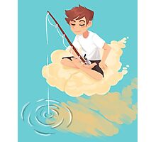 Cloud Fishing Photographic Print