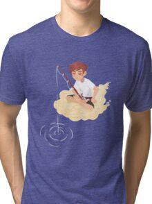 Cloud Fishing Tri-blend T-Shirt