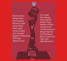 U.S Fifa Womens World Cup Champions  by icreatetees