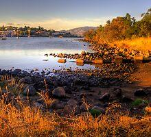 Kangaroo Bay in landscape and hdr, Tasmania by Elana Bailey