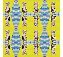 Crazy Eyes Pattern Photographic Print