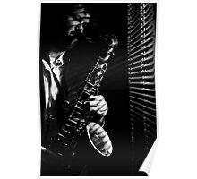 (Venetians) Sax All Night Long - Self-Portrait Poster