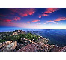 St Mary Peak Sunrise Photographic Print