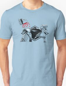 Alice vs. The Red Queen Unisex T-Shirt