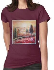 tuscany light Womens Fitted T-Shirt