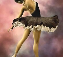 The Ballerina * Art by Ana CB Studio