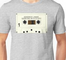good kid, maad city - cassette Unisex T-Shirt