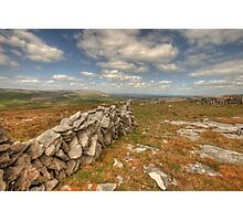 Beautiful Burren View Photographic Print