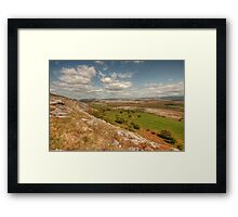 Beautiful Glen Hill Framed Print