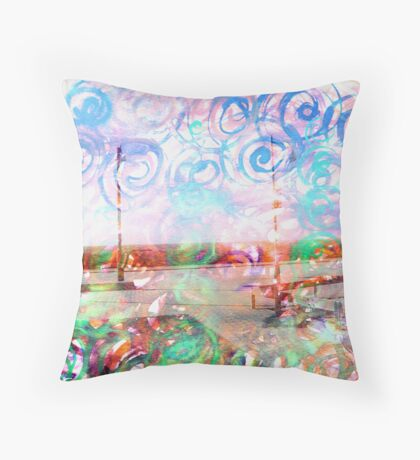 A lot of energy  Throw Pillow