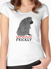 Prickly Porcupine Women's Fitted Scoop T-Shirt