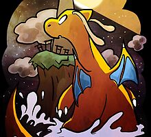 DRAGONITE LIGHTHOUSE  by Iris-sempi