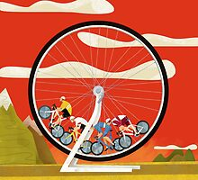 Road Cycle Racing on Hamster Power by Gregorilla