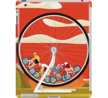 Road Cycle Racing on Hamster Power iPad Case/Skin