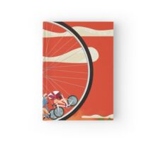 Road Cycle Racing on Hamster Power Hardcover Journal