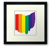 #LoveWinsOhio Framed Print