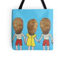 small potatoes Tote Bag