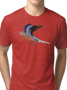 Birding and Wildlife: Bourkes Parrot Tri-blend T-Shirt