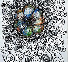 Poppy Swirl by MelDesign