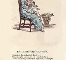 LIttle Ann and Other Poems by Jane and Ann Taylor art Kate Greenaway 1883 0056 Little Girls Must Not Fret by wetdryvac