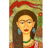 Homage to Frida Kahlo Photographic Print