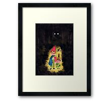 To the Wall Framed Print