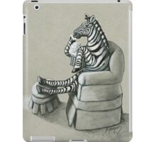 Retro Zebra iPad Case/Skin