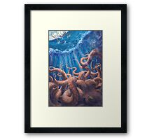 Sailor's Bane Framed Print