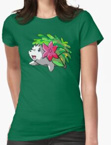 Happy Shaymin Womens Fitted T-Shirt