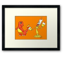 I Choose You to Be Our Guest  Framed Print