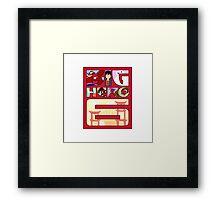 Big Hero 6 Logo Framed Print