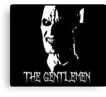 The Gentlemen Silhouette - BTVS Canvas Print