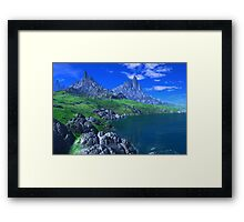 Land of the Sleeping Dragons Framed Print