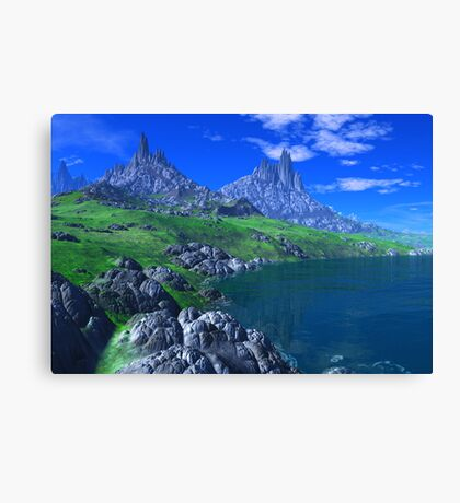 Land of the Sleeping Dragons Canvas Print