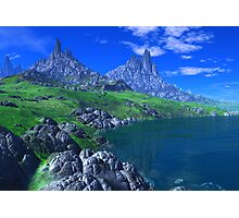 Land of the Sleeping Dragons Photographic Print