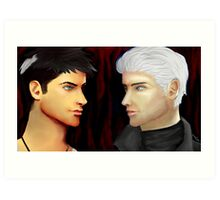 Sons of Sparda Art Print