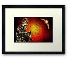 Science Fiction inspired art Framed Print