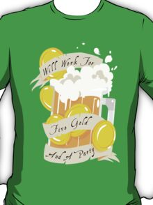 Five Gold and a Party  T-Shirt