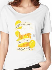 Five Gold and a Party  Women's Relaxed Fit T-Shirt