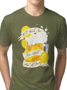 Five Gold and a Party  Tri-blend T-Shirt